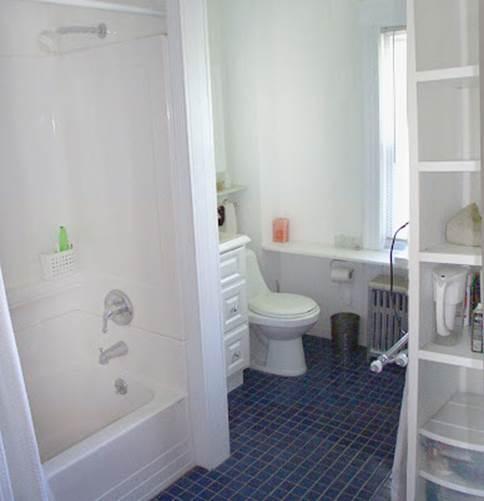 装修后的洗手间
