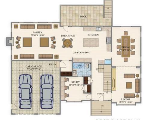 八米宽深三十米房屋设计图展示图片